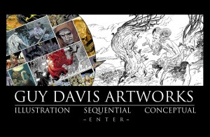 """Comics creator Guy Davis' new web site features news and images from the artist behind the beautifully drawn graphic novel """"The Marguis: Inferno."""""""