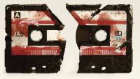 A battered cassette tape is the unlikely engine for time travel in the short film Record/ Play.