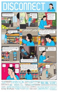 One of the many mini-comics inside the multi-faceted narrative of Chris Ware's 2012 graphic novel Building Stories.