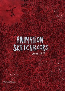 """Laura Heit's new book """"Animation Sketchbooks"""" features the artwork of JJ Villard and other avant-garde animators working today."""
